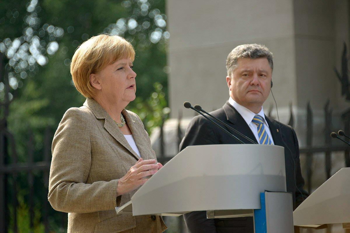 Merkel in Kyiv
