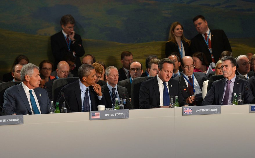 Here's the best we could send to the table, to determine the fate of the world - courtesy Chuck Hagel