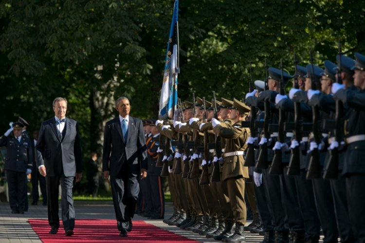 Obama in Estonia