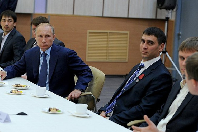 Meeting with young researchers at the Russian Federal Nuclear Centre – All-Russian Research Institute of Experimental Physics.