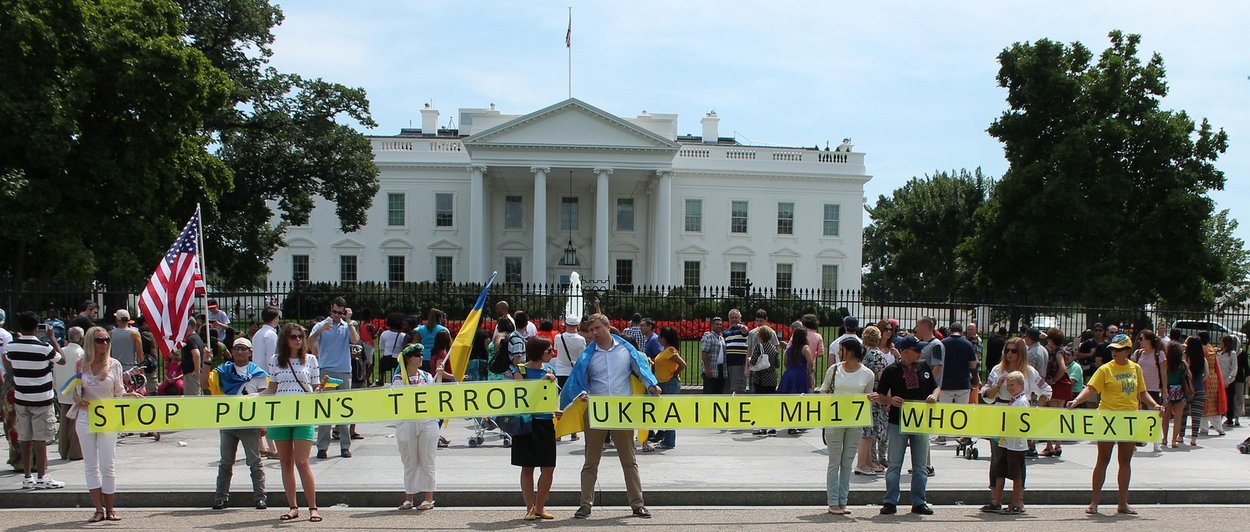 The 12 people behind the American Ukraine Unity March on Washington - courtesy Elvert Barnes