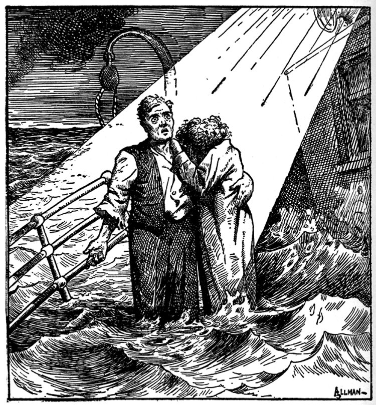 """Nearer, My God, To Thee"" – cartoon of 1912"