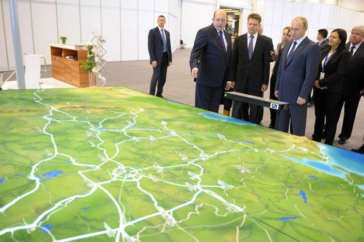 While Putin oversees massive construction and planning projects to propel Russia into world leadership - leaders like Abbott parlay their nations into a quagmire of failed globalization - Putin in Novosibirsk overseeing massive infrastructure planning - Kremlin