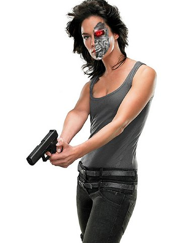 Sarah Connor T2 figure