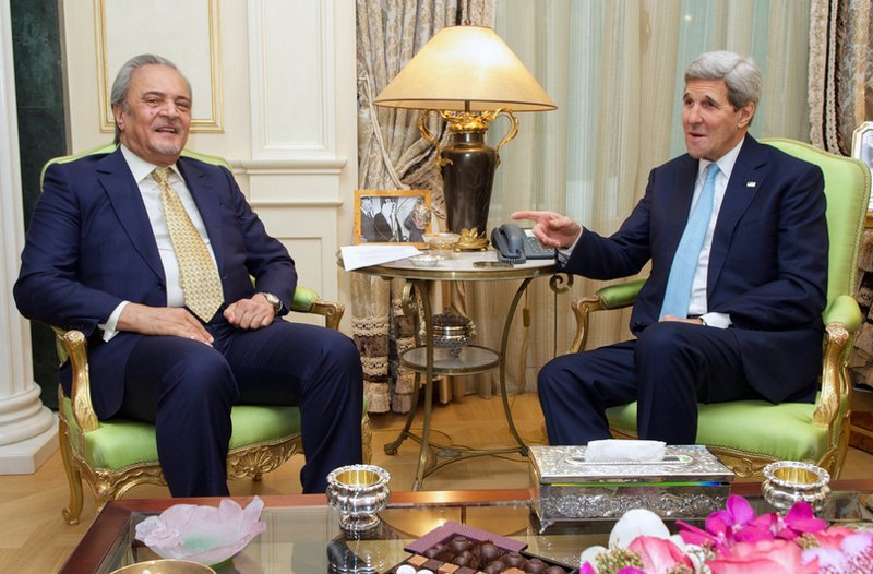 Secretary Kerry Meets With Foreign Minister al-Faisal of Saudi Arabia in Paris Before Joining Iranian Nuclear Negotiations in Vienna - State Department