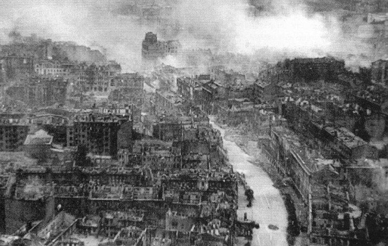 Kiev in ruins