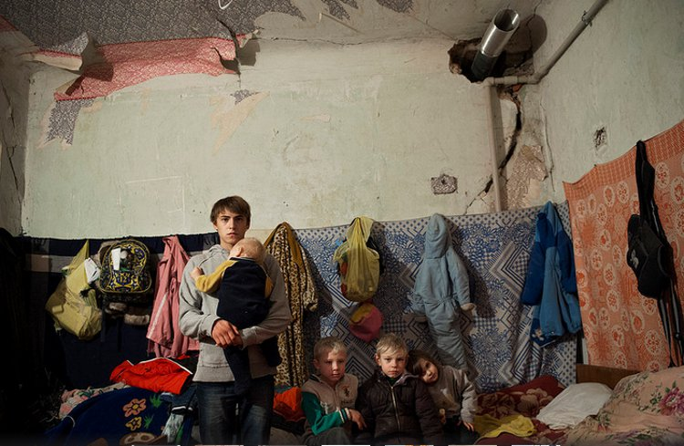 Donbass displaced persons