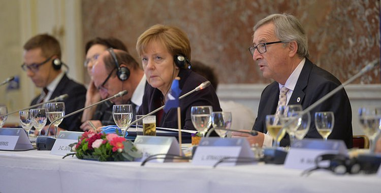 German Chancellor Angela Merkel - European People's Party