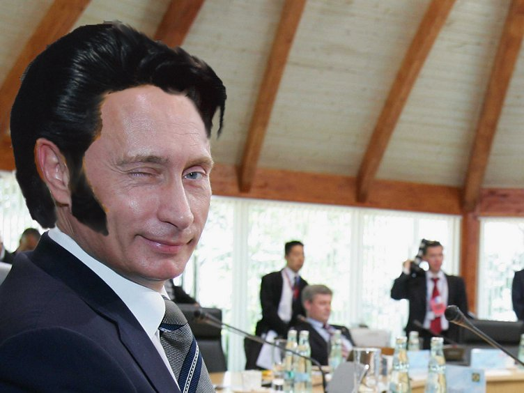 Thank you very much.. The King - AKA Elvis Putin
