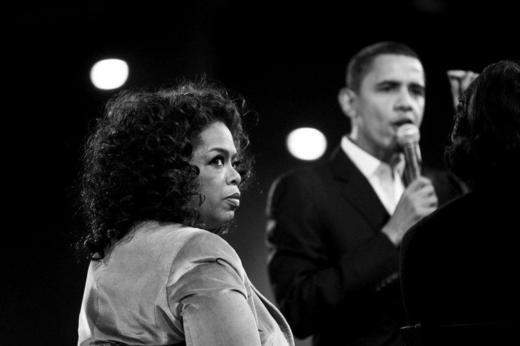 Oprah and Obama via Joe Crimmings