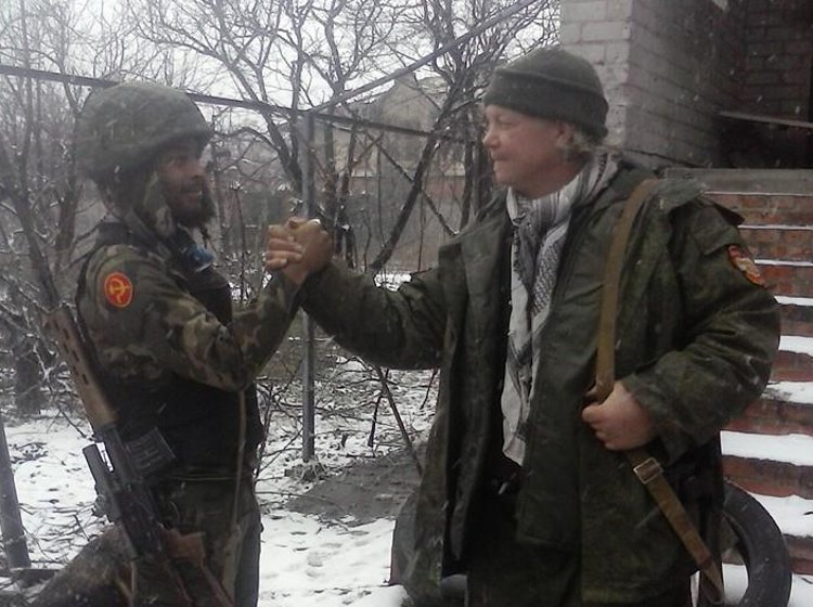 Novorossiya volunteers