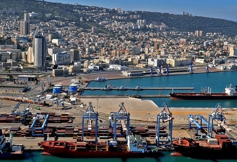 Most of Israel's oil and natural gas originates at the port of Haifa. (CC)