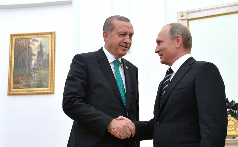 President Putin and President of Turkey Recep Tayyip Erdogan in Moscow this week (President of Russia)