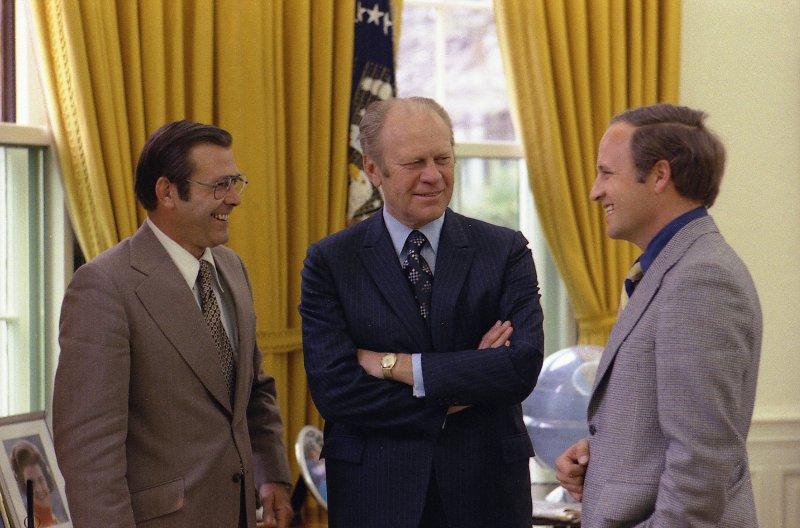 Cheney, Rumsfeld, Ford