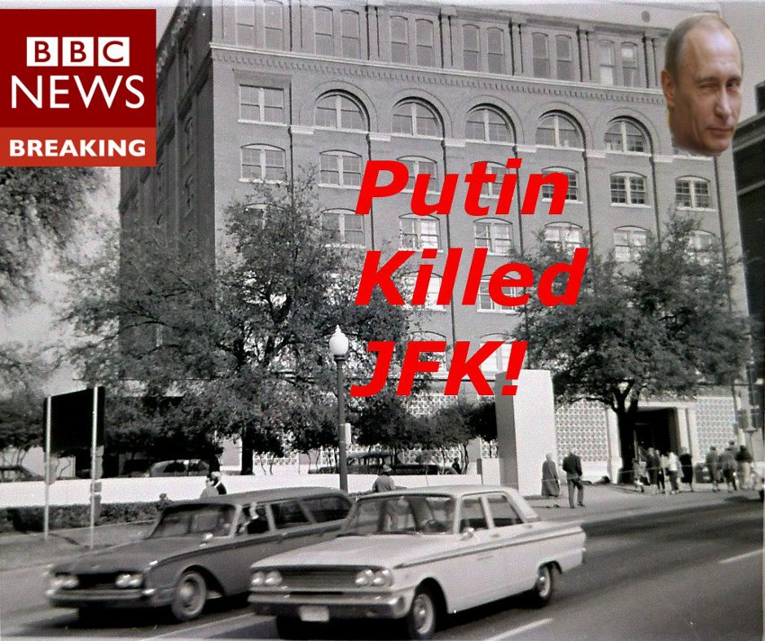 Putin Killed JFK