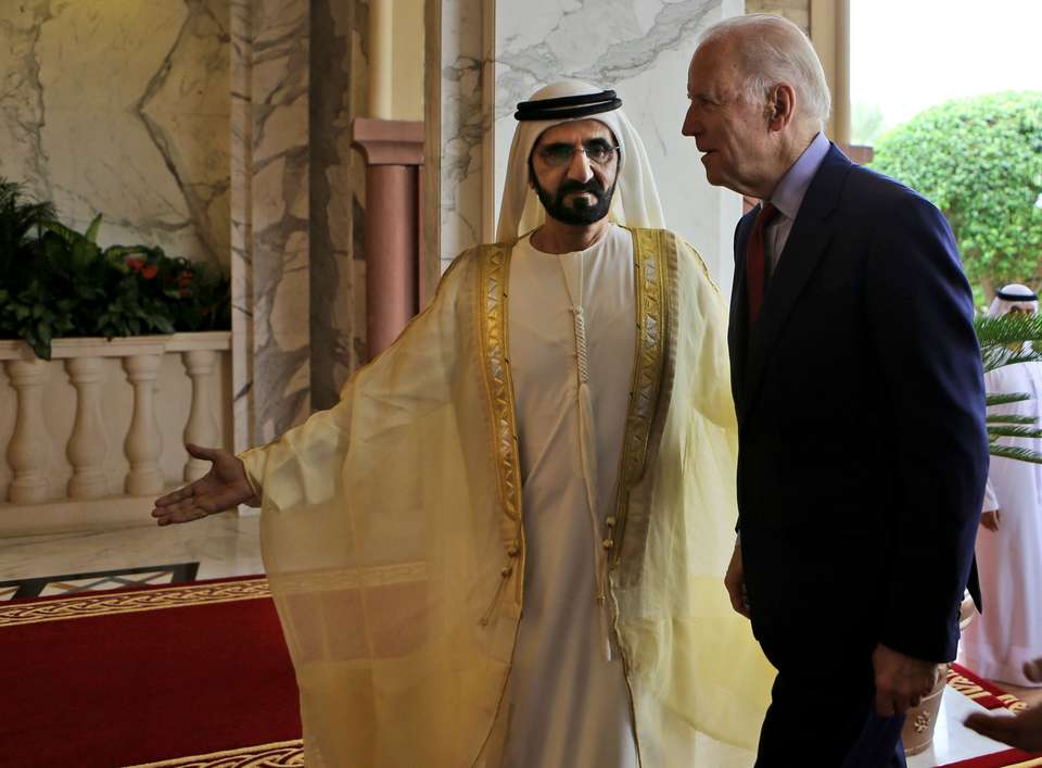 UAE and Biden