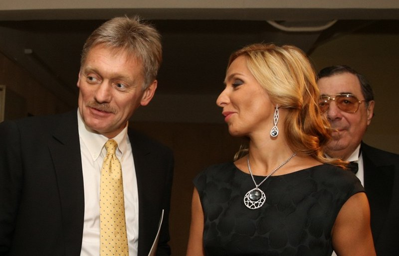 Dmitry Peskov and his lovely wife Tatiana