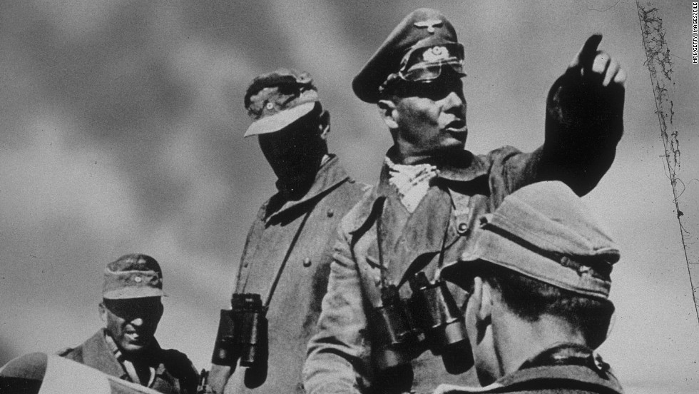 Field Marshall Erwin Rommel would have crushed the Allies in North Africa with proper supply