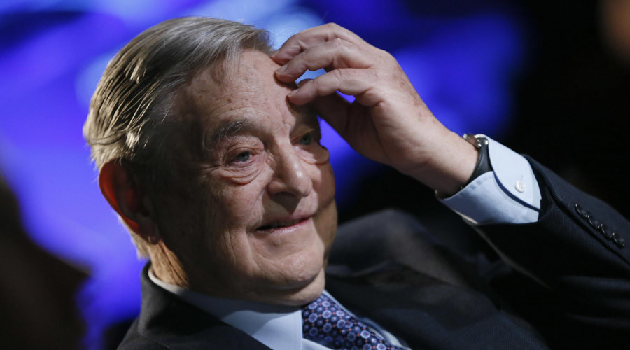 Why does it seem like George Soros is involved?