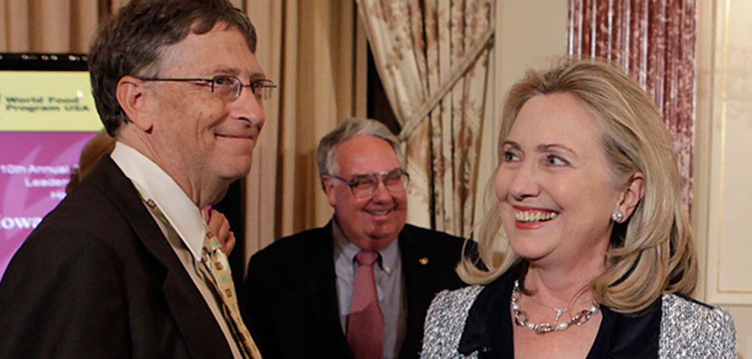 A recent meetup between Bill Gates and presidential hopeful Hillary Clinton