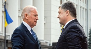 VP Joe Biden with Poroshenko