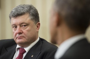 From the shadows, Barack Obama gives Ukraine's Poroshenko his marching orders