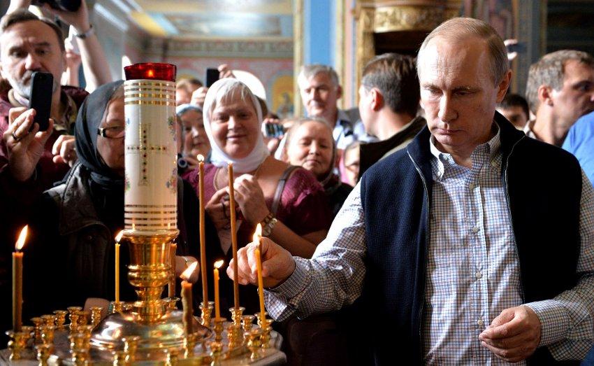 Putin religious