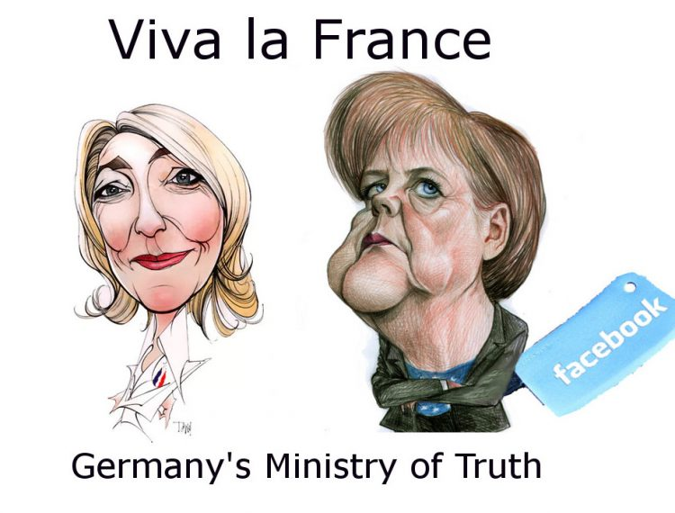 Merkel and Germany's Truth Minnistry