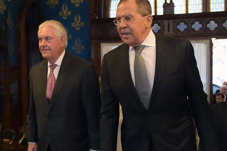 Tillerson and Lavrov