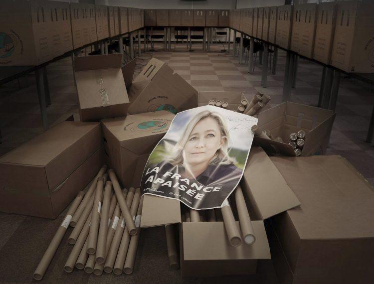 Marine Le Pen posters