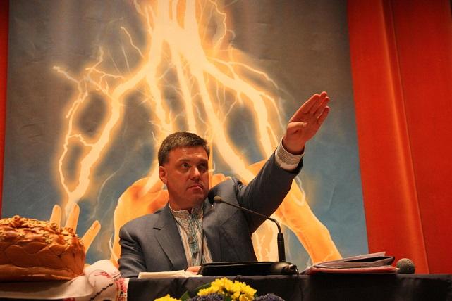 Neo Nazi Svoboda leader Oleh Tyahnybok