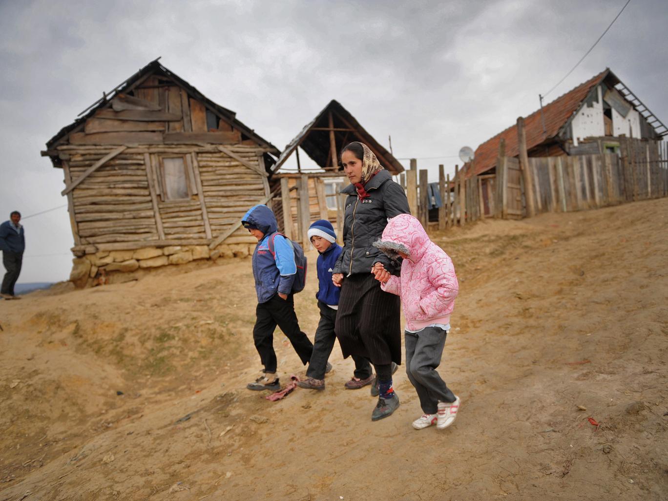 Romania poverty
